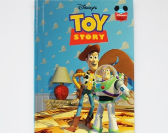 Disney's Toy Story - Children's Book, Disney Book, Story Book, Vintage Book
