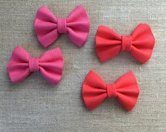 Bow tie hair clips