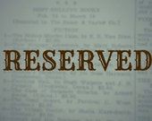 RESERVED for E