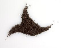 Deep Metallic Coffee Brown/Dark Bronze size 18/0 Seed Beads Vintage Italian Glass Seed Beads Edwardian Victorian Era