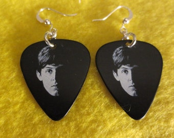 Beatle Paul McCartney dangle earrings