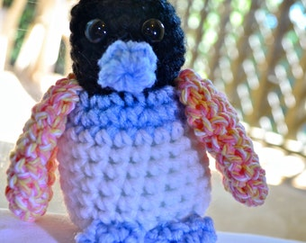 Colorful Amigurumi Crochet Penguin
