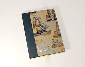 Blue Ships A5 Sketchbook