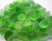 55 GENUINE SEA GLASS 6mm - 8mm Tiny Green Natural Unenhanced Real Surf Tumbled Greek Beach Bulk Undrilled Jewelry Qaulity Seaglass  U 325a