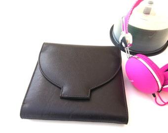 Personalized Handmade Leather CD storage, CD Case, CD Holder, Dvd Holder, Media Storage, Dvd Organizer, Cd storage case, Cd Binder, Storage