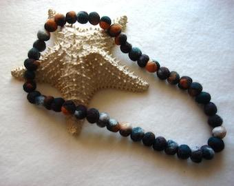 Multi-Colour Felt Necklace, Felted, Wool, Felt Jewelry, Feltbeads, Feltballs