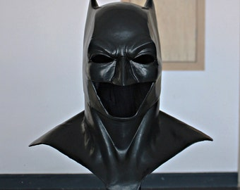 Halloween Costume, Movie Prop Batman Mask, Batman Cowl Costume Suit, Batman vs Superman Mask Dawn of Justice League Movie LA30