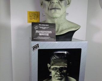1990's Universal Studios Frankenstein Bust w/Box and COA
