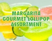 Margarita Assortment Lollipops - Salted Margarita, Melon Margarita, Strawberry Margarita, Mango Margarita