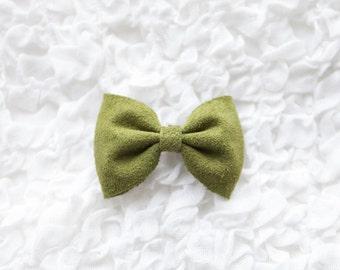 ABBY Bow- Oscar the Grouch Green