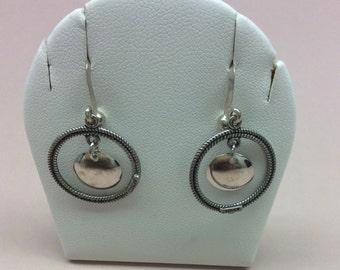 Gorgeous Dangle Sojle  Earrings Norwegian Wedding Earrings