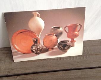 Greek ceramic postcard