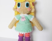 Amigurumi Star Butterfly Crochet Doll Star Vs the Forces of Evil