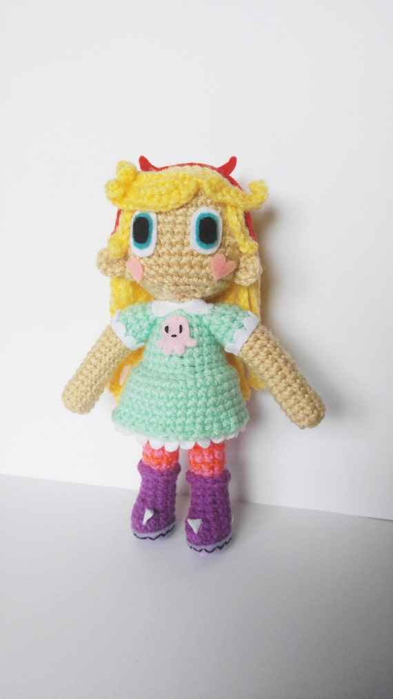 Amigurumi Star Butterfly Crochet Doll Star Vs the Forces of