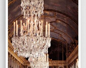 Palace of Versailles, Hall of Mirrors - Paris,Giclee Art Print,Home decor,Fine art photography,Paris decor,Art print,Art Poster,Gifts