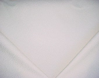 3-1/8 yards James Dunlop / Mokum 10301 Temple in Pearl - White Mottled Design Upholstery Drapery Fabric - Below Wholesale - Free Shipping
