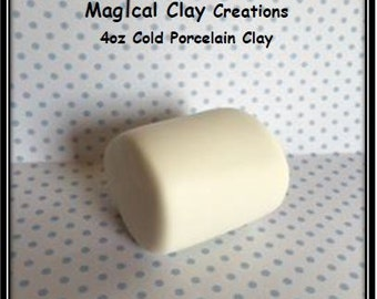 Cold Porcelain Clay 4 oz.  White