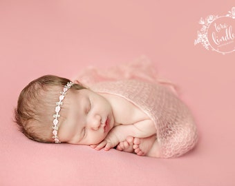 Newborn Photography Fabric Backdrop - Anna Knit Backdrop -  2 Yards