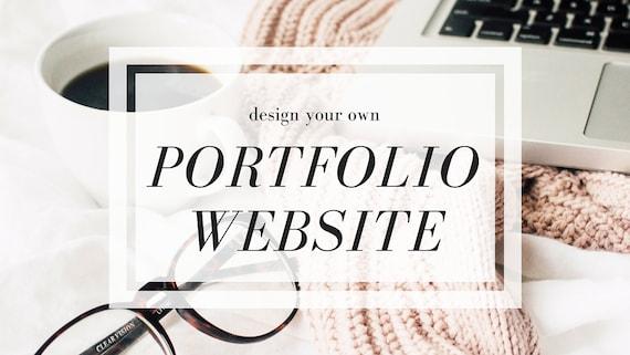 Items Similar To Design Your Own Portfolio Website Online
