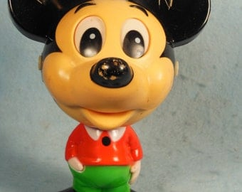 Vintage-Walt Disney Productions-Mickey Mouse-Chatter Chum-Speaks Spanish