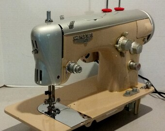 Restored White 673R Vintage Sewing Machine by Stagecoach Road, w/Free Shipping and Guaranty