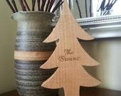 Personalised Christmas Tree, Christmas Tree, personalised, Wooden Christmas tree, christmas tree decoration, christmas