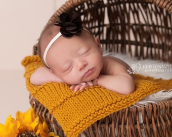 FREE SHIPPING! Brown Headbands, Brown Baby Headbands, Newborn Headband, Baby Girl Headband, Baby Girl Headband, Photography Prop