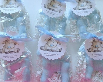 10 Lamb Soap Favors, Baby Showers, Baptisms, Christmas, Special Occasions