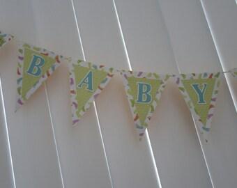 BABY BOY Shower Banner