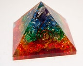 Black Friday Sale Early! 7 CHAKRA PYRAMID Strong Protection and Healing Over 2 Inches