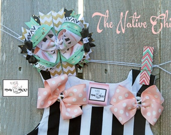 The Native Chick 6 inch Hairbow
