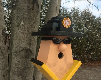 Fire Fighter Birdhouse