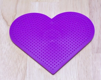 Large Heart Pegboard, Ironing Paper, Instructions, Bead Art Supply, Craft Supply, Church Craft Supply