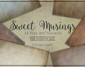 Sweet Musings - Fine Art Textures, Photoshop Textures
