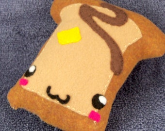 Made to Order: French Toast Breakfast Food Plushie / Plush Toy