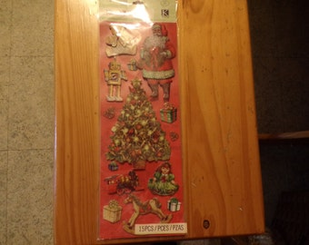 CHRISTMAS ADHESIVE CHIPBOARD