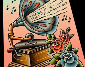 Customizable Lyrics: Phonograph