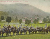Vintage 1910 Postcard | West Point | Cadet Cavalry | West Point | New York
