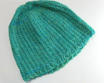 Adult Teal Beanie Hat