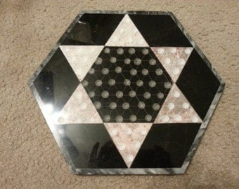 Chinese Checkerboard Tile Trivet