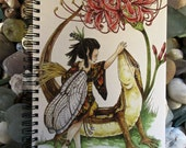 Japanese Faerie Notebook / Japanese Fairy Notebook