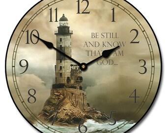 Lighthouse Wall Clock 2