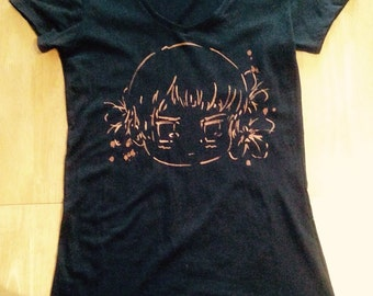Hetalia Japan Bleach Top - Black/Custom Colour