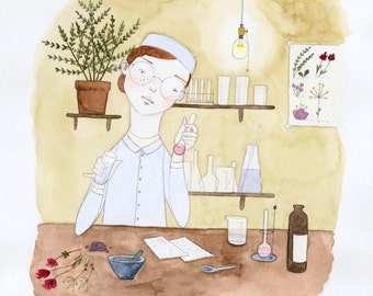 The Perfume Maker • Limited Edition Print