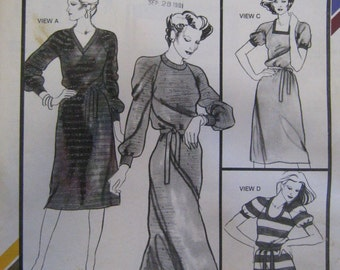 Stretch & Sew 1536 Raglan Chemise Pattern - Vintage