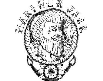 Mariner Jack embroidery design