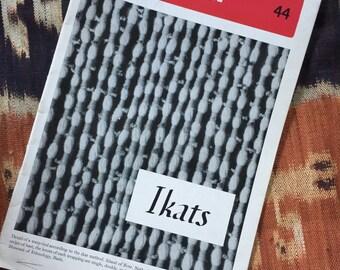 Vintage Ikat Booklet, 1942, Ciba Review, Dyes, Origin of Technique,