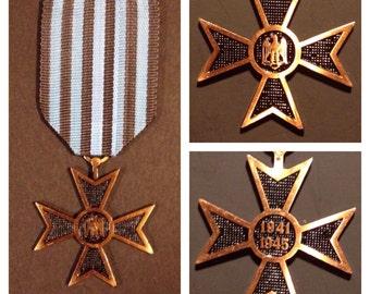 vintage romania military medal 1941-1945