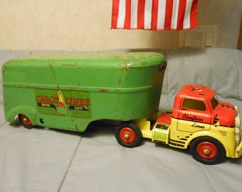 1950's Wyandotte Truck & Trailer