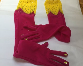 Bespoke gloves - made in any fabric to match your outfit
